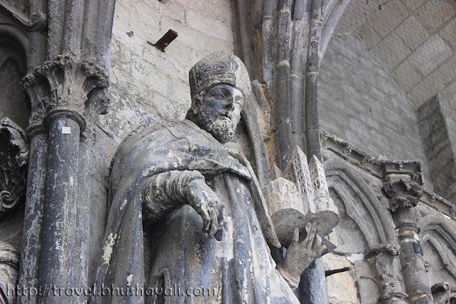 Notre Dame Cathedral Tournai Belgium Sculpture