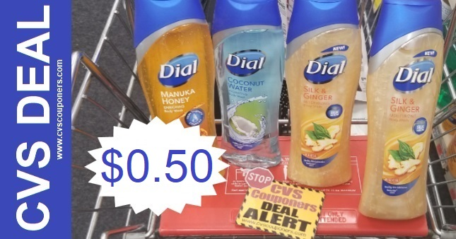 Dial Body Wash Coupon CVS Deal 8-23 ONLY