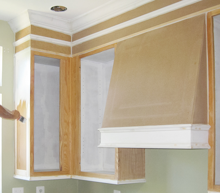 DIY - How to paint oak kitchen cabinets with a brush