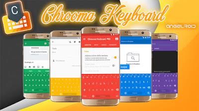 Chrooma Keyboard es un ligero, y rápido teclado
