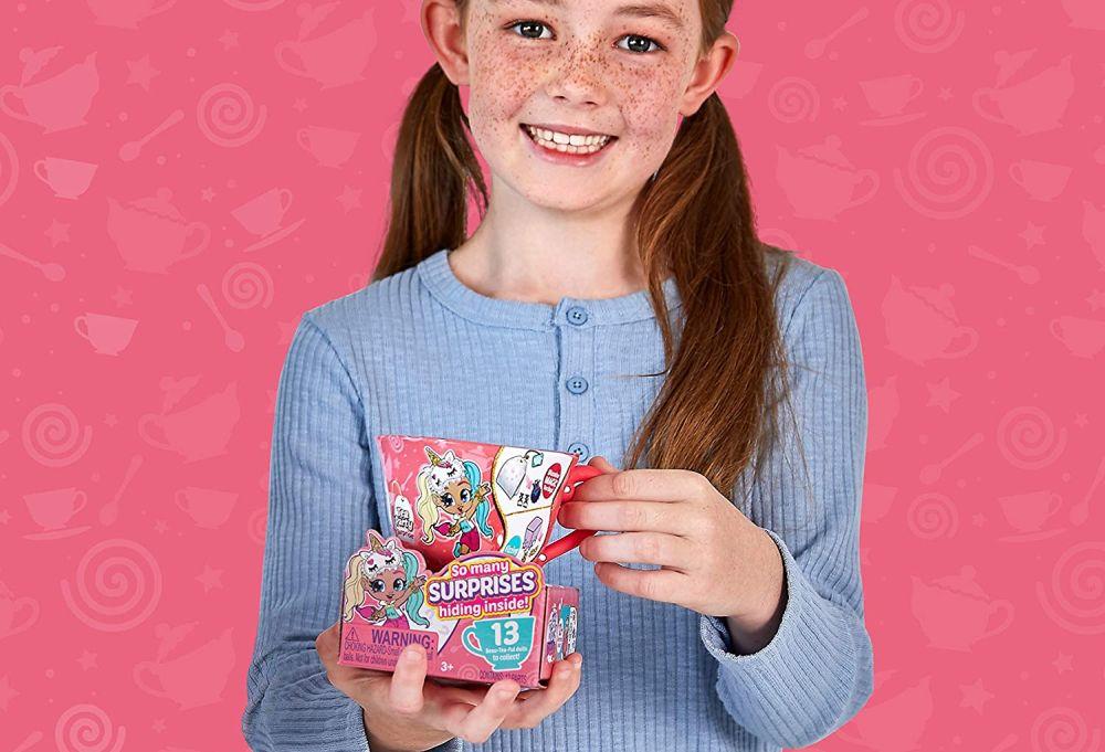 Маленькая чайная чашка с куклой и сюрпризами Itty Bitty Prettys Zuru Toys