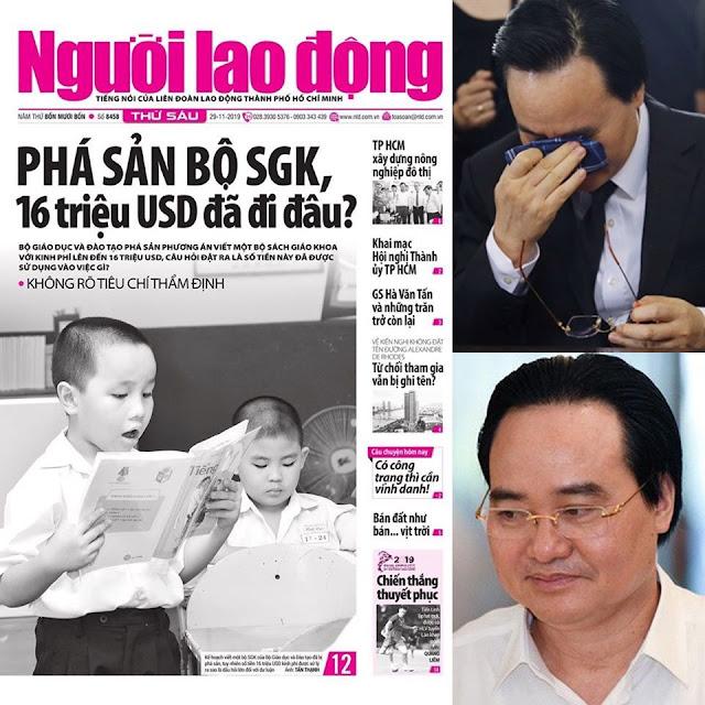 Bộ trưởng Phùng Quang Nhạ có khóc không khi gần 370 tỷ đã bị phá sản