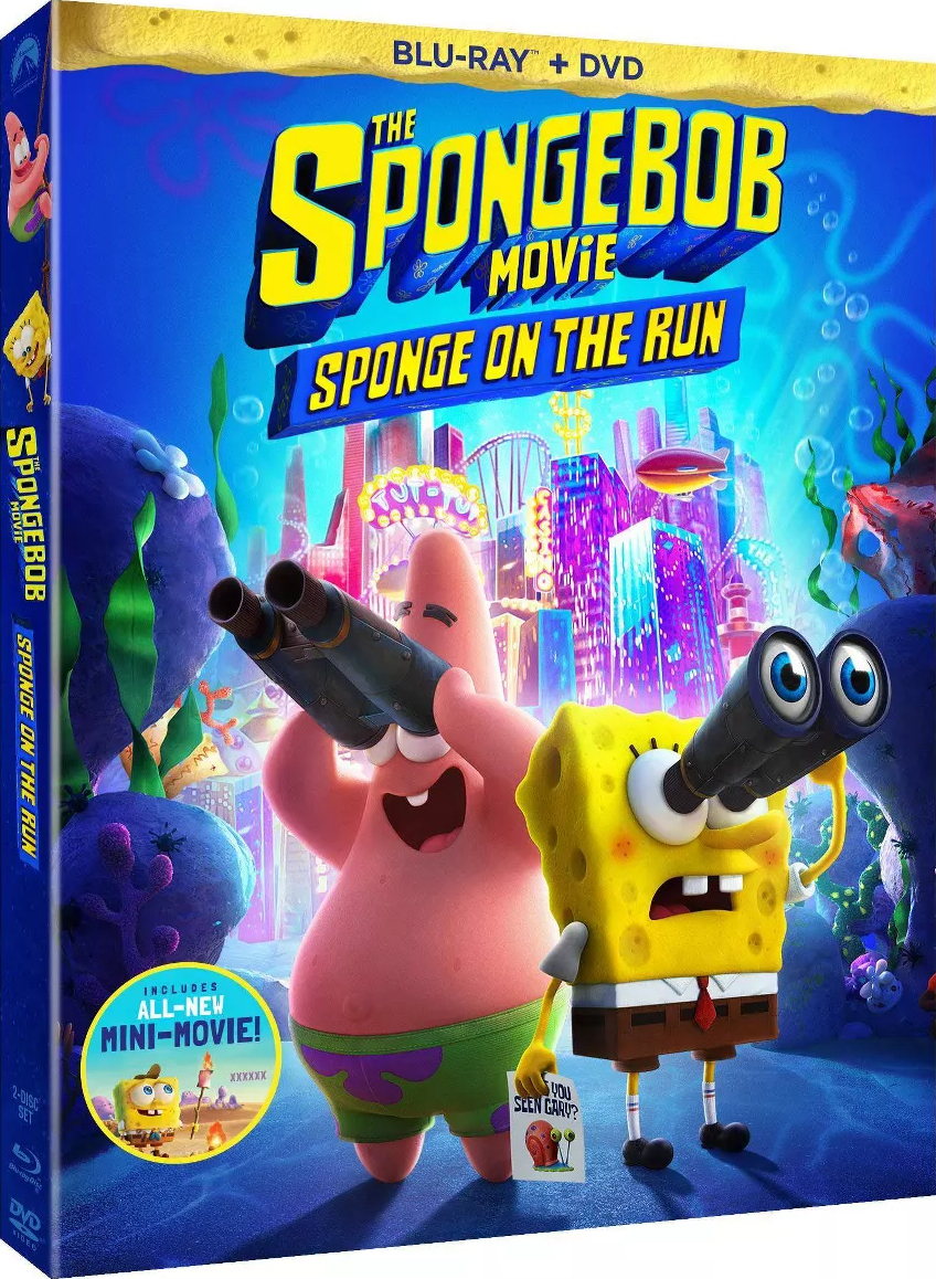 Paramount to Release 'The SpongeBob Movie: Sponge on the Run' on Blu-ray on Tuesday, July 13