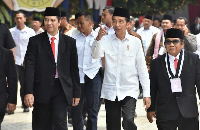 Buka Rakernas LDII, Presiden Jokowi: Cara-Cara Politik Kotor Harus Sudah Dihentikan
