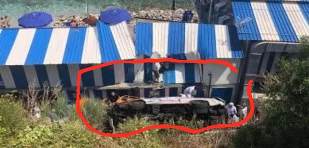 ايطاليا: انحراف حافلة جنوب ايطاليا وانباء عن قتلى وجرحى + فيديو