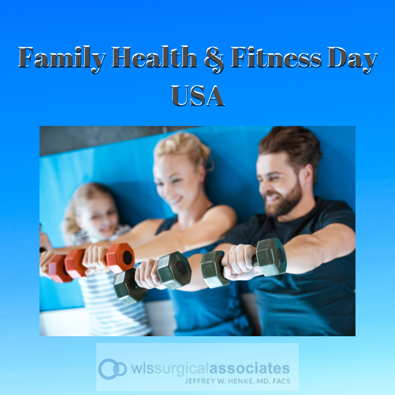 Family Health & Fitness Day USA Wishes
