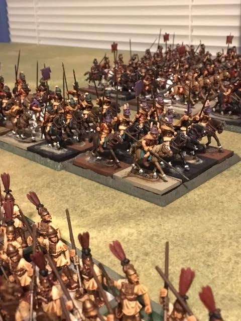 Paint Bench: 13th Update on mass painting project of Romans and Sussessor troops 28mm Aventine Miniatures