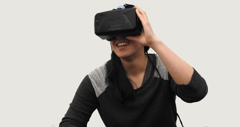 VR, virtual room gaming