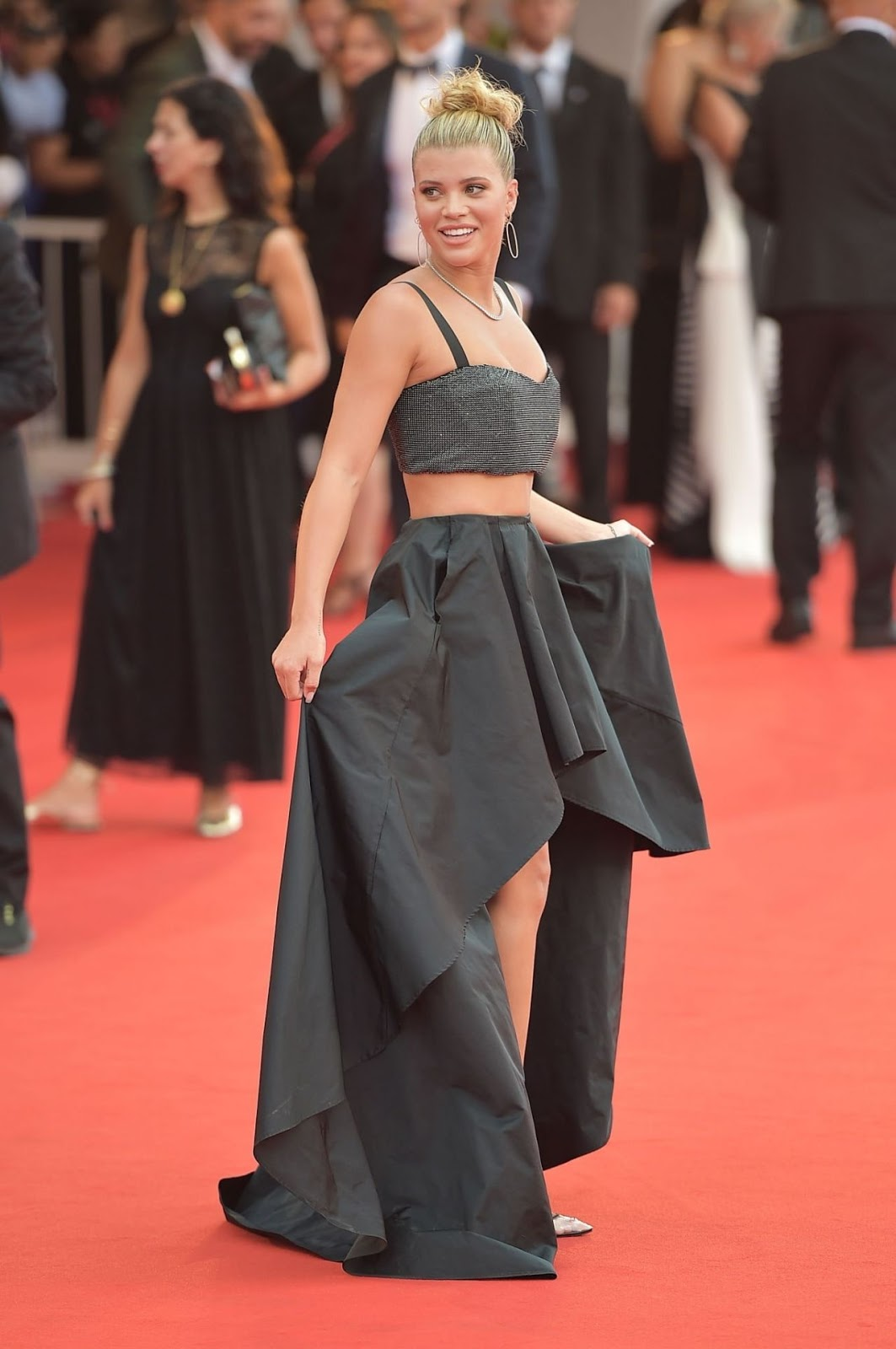 Sofia Richie on Red Carpet – La Vérité Screening in Venice