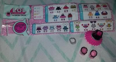Розовое платье для кукол ЛОЛ Сюрприз