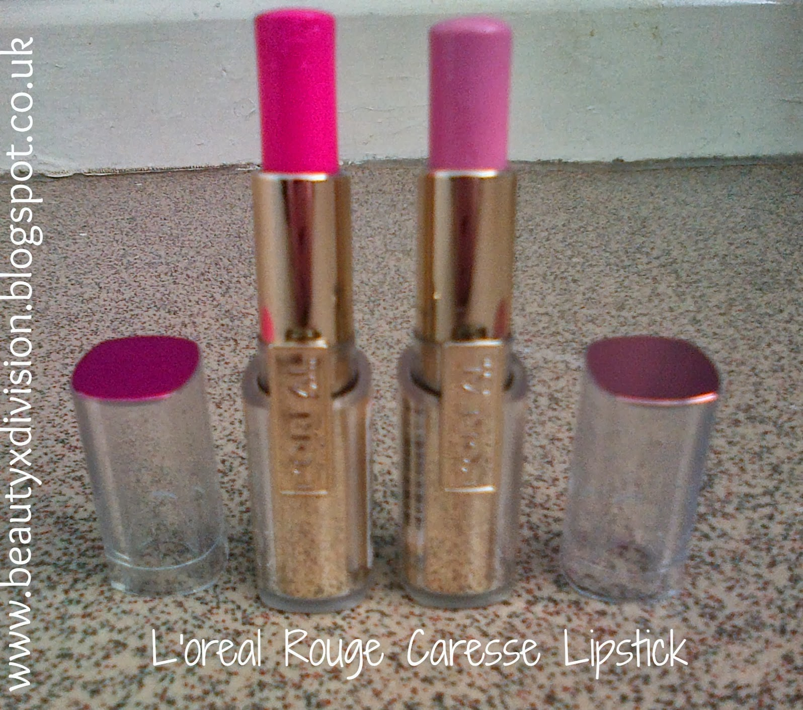 L'oreal Rouge Caresse Lipsticks