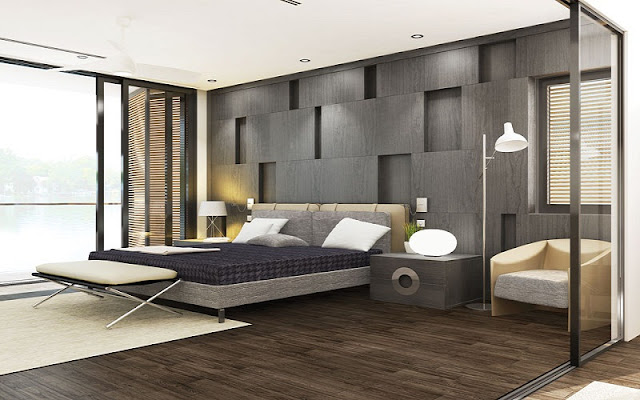 Phòng ngủ căn hộ River City Quận 7