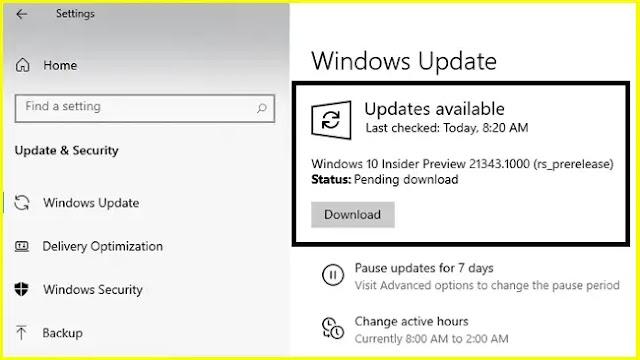 Windows 10 21343 ISO (German, English) Download