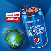 Castiga un voucher de vacanta cu Pepsi - concurs - giveaway - contests - premiu - cora - castiga.net - win