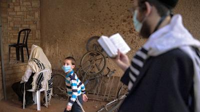 Israel refuerza el segundo confinamiento en medio del aumento de casos diarios de Covid-19