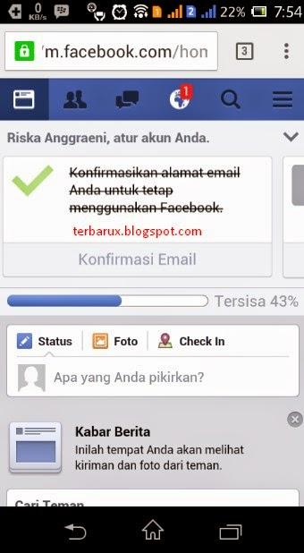 Cara Mudah Membuat Facebook di Hp Android