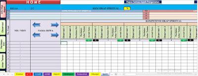 Download Aplikasi Penilaian Harian, PTS, Rapor K13 SMP, www.librarypendidikan.