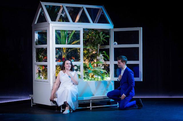 Tchaikovsky: Iolanta - Claire Tunney, Robert Forrest - Royal Academy Opera (Photo Robert Workman)