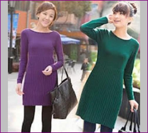 baju rajut murah korea