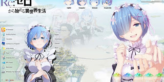 Cara Install Tema Anime di Laptop untuk Windows 7