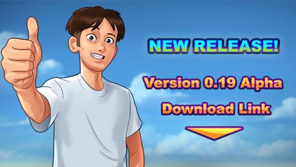 Summertime Saga APK + Save v0.19 Game Download