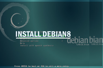 Cara dan Tutorial Instal Debian 8 di Virtualbox