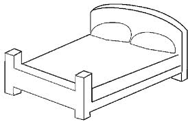 Bedroom Coloring Pages