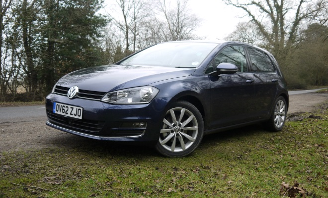 VW Golf VII front view