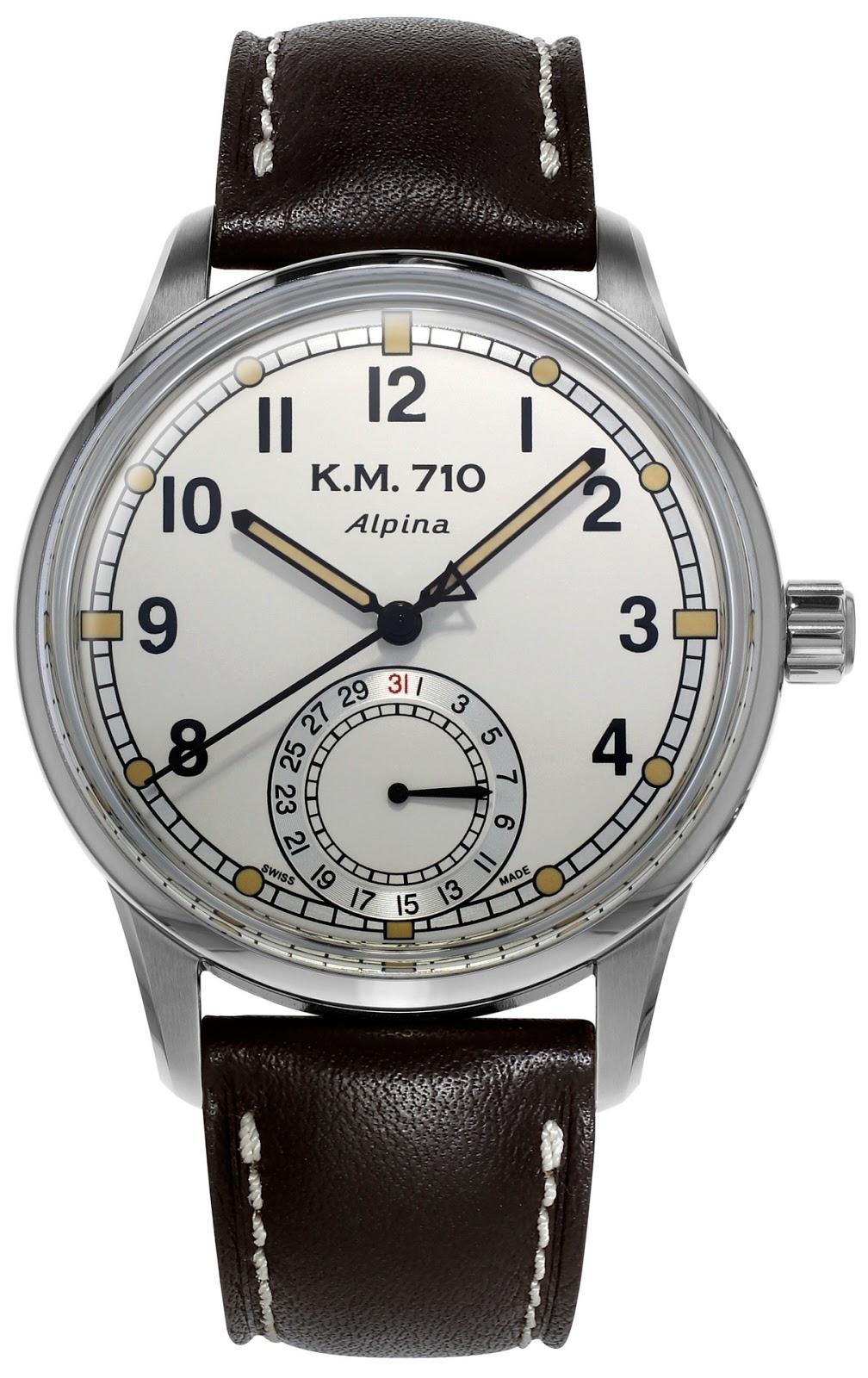 j 39 aime les montres la montre du jour alpina km 710. Black Bedroom Furniture Sets. Home Design Ideas