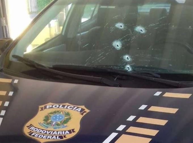 PRFs são baleados com tiros de fuzil durante operação contra roubo de carga