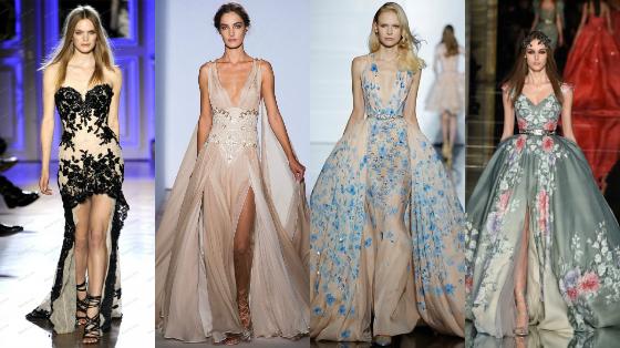vestidos zuhair murad