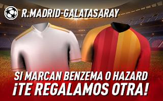 sportium promocion champions Real Madrid vs Galatasaray 6 noviembre 2019