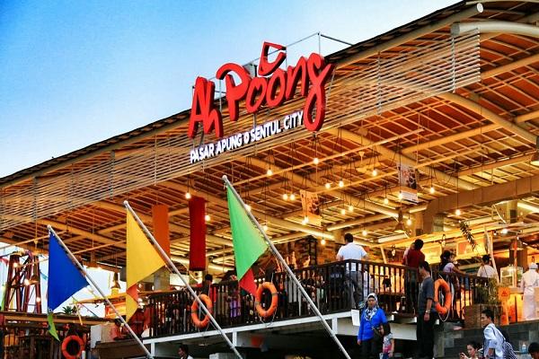 Asiknya Wisata Kuliner Di Pasar Ah Poong Sentul Bogor