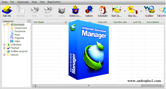 تنزيل internet download manager مجانا