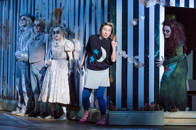 Mark-Anthony Turnage: Coraline - Mary Bevan (Coraline), Kitty Whatley (Other Mother) and Ghost Children - Royal Opera(Photo ROH | Stephen Cummiskey)