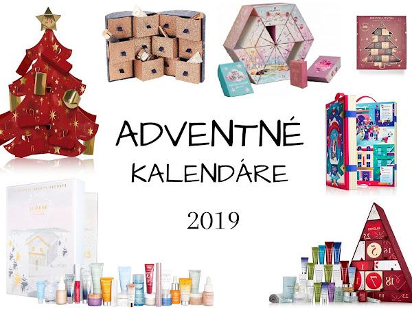 Beauty adventné kalendáre 2019