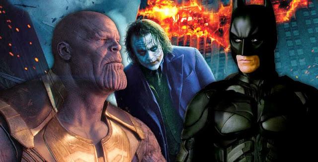 The Dark Knight Lebih Besar dari Avengers: Infinity War