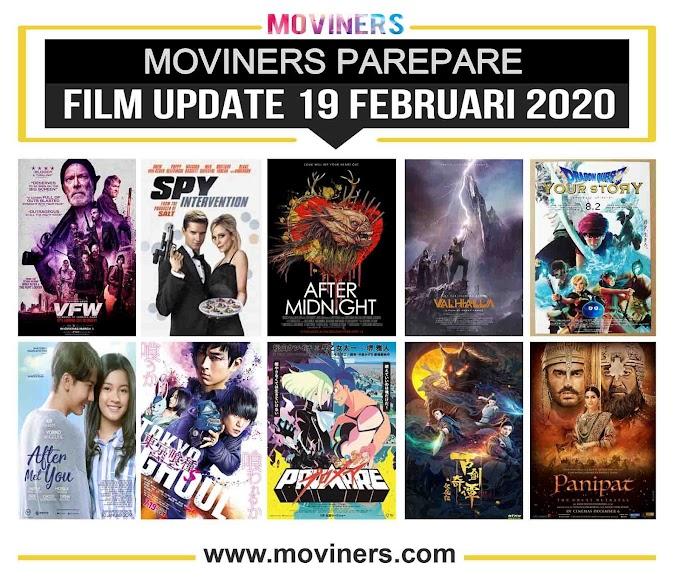FILM UPDATE 19 FEBRUARI 2020