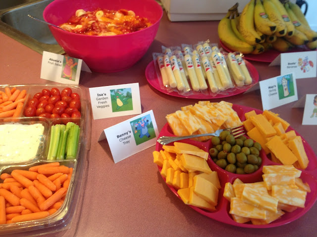 Teach Academy Dora The Explorer Birthday Party The Food