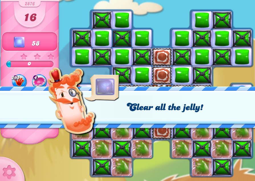 Candy Crush Saga level 2876