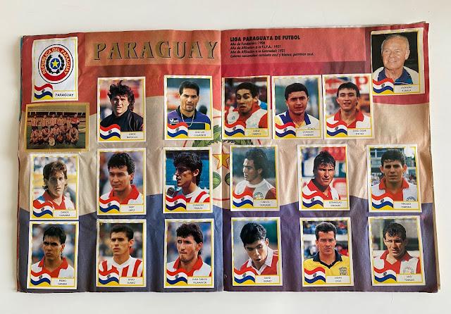 figurine Paraguay copa america '95  Navarrete