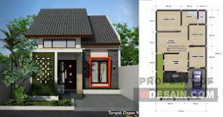 Model Rumah Minimalis Ukuran 7x10 5