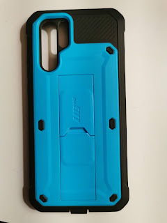 Backplate of the Supcase Beetle Phone Case for Huawei P30 Pro, color blue