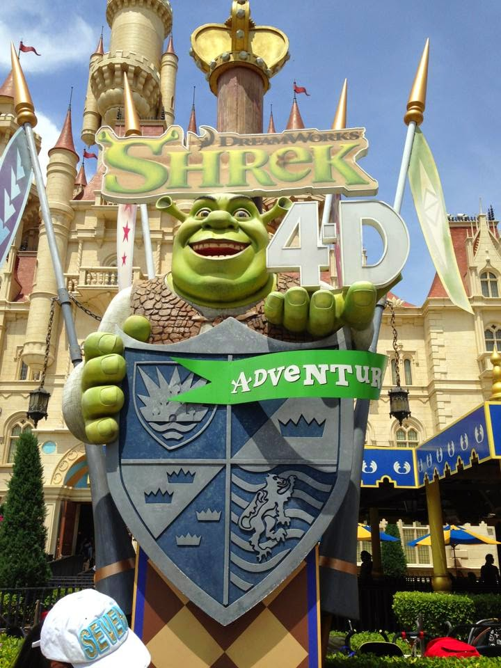 Shrek 4D Adventure Universal Studios Singapore