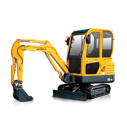 Hyundai Excavators R18-9