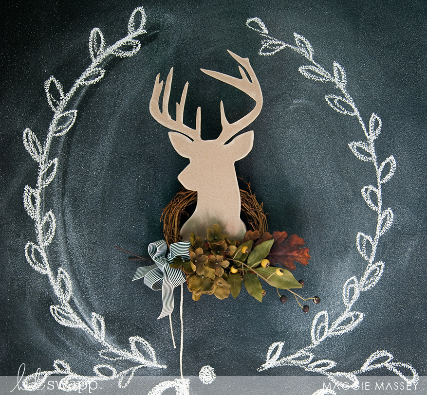 Thanksgiving Wall Art | Maggie Massey for Heidi Swapp
