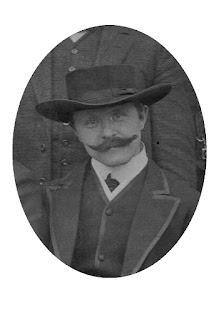 Joseph Stoll um 1904 - Ausschnitt aus einem Gruppenbild der Bondelzwarts