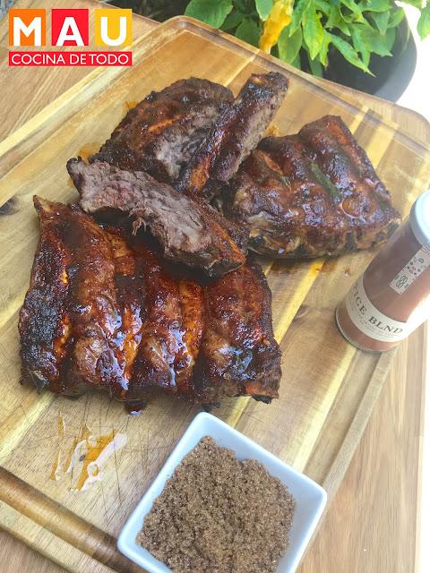 receta costillas costillar de ribeye spice blnd sazonador mau cocina de todo