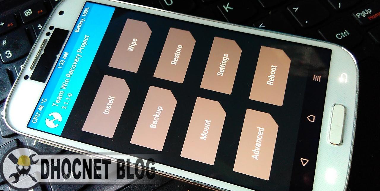 Panduan Flash TWRP Dan CWM Recovery di Samsung Galaxy S4 GT-I9500