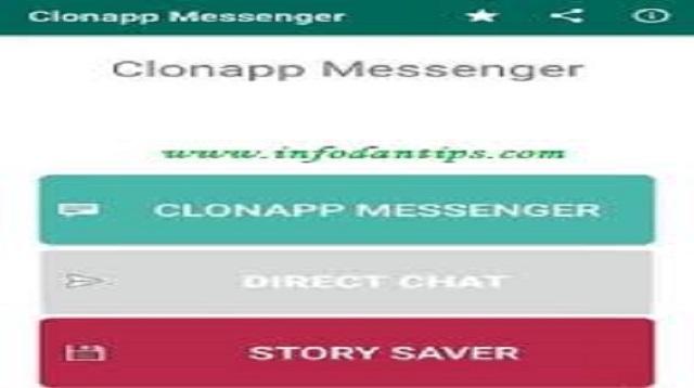 Cara Menyadap Messenger
